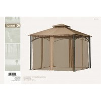 Sunjoy Target Summer Veranda Gazebo 10x10 Replacement Netting