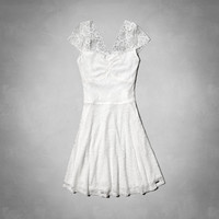 Gillian Lace Skater Dress