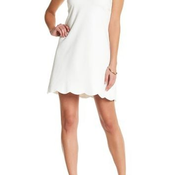 Love...Ady | Scallop Trim Shift Dress | Nordstrom Rack