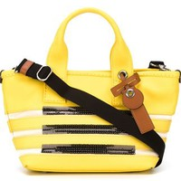 Marc By Marc Jacobs Small Striped Tote - Biffi - Farfetch.com