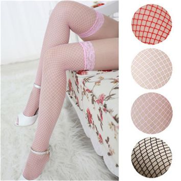 Women's thigh high stockings High hosiery