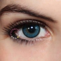 Royal Vision Love Color Blue Circle Lenses Colored Contacts Cosmetic Color Circle Lens | EyeCandy's
