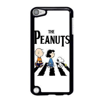 THE PEANUTS SNOOPY CHARLIE BROWN BEATLES iPod Touch 5 Case Cover