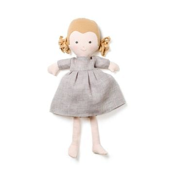 Fern Organic Girl Doll by Hazel Village