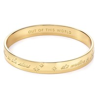 kate spade new york It's Written In The Stars Idiom Bangle