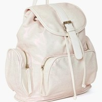 Shine On Backpack - White