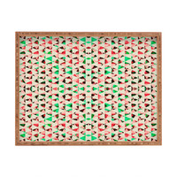 Caleb Troy Holiday Tone Shards Rectangular Tray