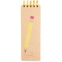 Spiral Memo Pad - Kraft Pencil