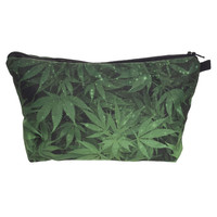 Weed Monogram Travel Stash Bag