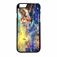 Thomas Kinkade Disney Painting Ariel The Little Mermaid iPhone 6 Plus Case