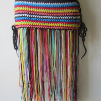 Crochet  hip belt, Fringe hip belt, festival clothing, fringe skirt,  gypsy, tribal dancing, belly dancing, overlay skirt