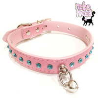 Pink Crystal Collar