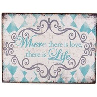 Where There is Love There Is Life Wood Block | Shop Hobby Lobby