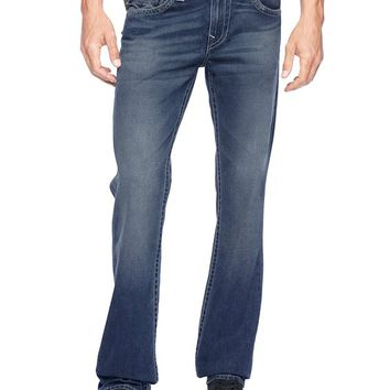True Religion Hand Picked Straight Mens Jean - Dark Drifter No Rips