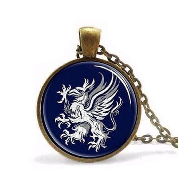 Antique VINTAGE Game of thrones Dragon age gray wardens Pendant Necklace jewelry steampunk mens chain women fashion new charm