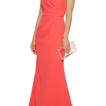 Textured-crepe gown | Badgley Mischka | US | THE OUTNET