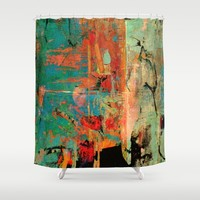 Trojan Horse Shower Curtain by Fernando Vieira