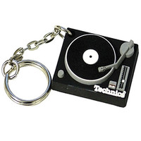Technics: Deck Key Chain