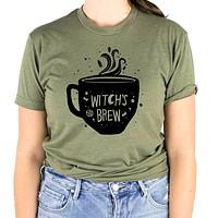 Witch's Brew Coffee Shirt