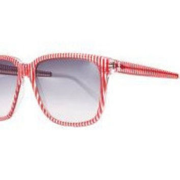 Sheriff&Cherry G12S Red Stripe Sunglasses
