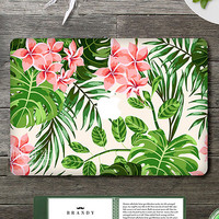 DallowayCabin New Design Flower Pattern Full Cover Laptop Protective Skin Vinyl Sticker Decal  for Macbook 11 12 13 15 inch