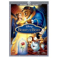 Beauty and the Beast Diamond Edition 3-Disc Combo Pack Blu-ray