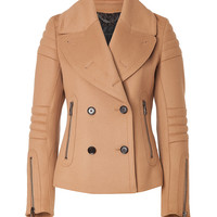 Belstaff - Wool-Cashmere Moto Dallington Jacket in Camel