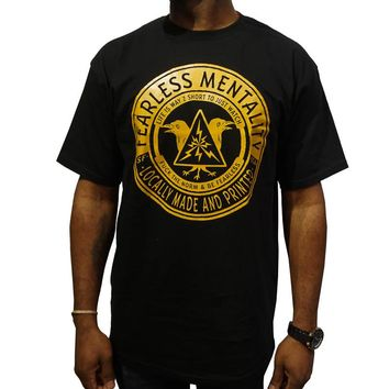 Fearless Mentality Tee in black
