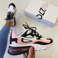 Nike Air Max 270 React Women's Leisure Sports Shoes