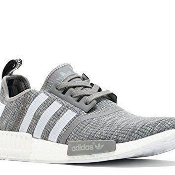 ADIDAS Variation Adidas NMD_R1 Mens Running Shoes Solid Grey/Running White