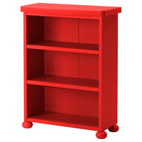 MAMMUT Shelf unit - red - IKEA