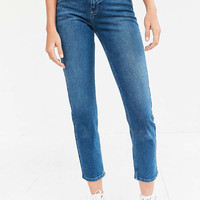 BDG Girlfriend High-Rise Jean - Rinsed Indigo | Urban Outfitters