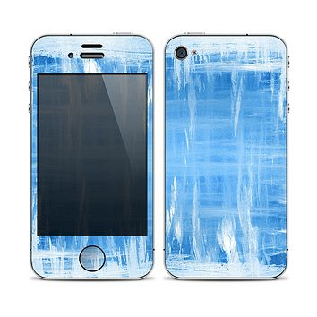 The Water Color Ice Window Skin for the Apple iPhone 4-4s