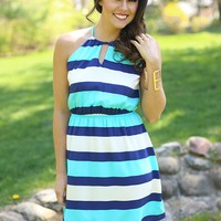 Blue Raspberry Crush Dress