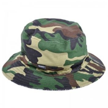 Trukfit Reversible Fisherman Bucket Hat Camo at ApparelZoo.com