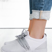 Tristan Sneakers - Light Grey