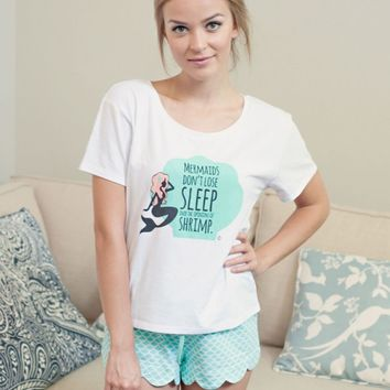 Sleepwear - Quirky Mermaid Pajama Set