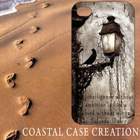 Apple iPhone 4 4G 4S 5G Hard Plastic or Rubber Cell Phone Case Cover Original Trendy Stylish Quote Design