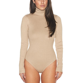 Naked Wardrobe Knit It & Quit It Bodysuit