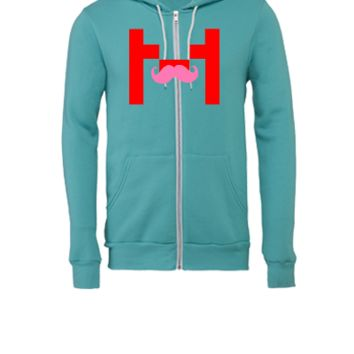 Markiplier M - Unisex Full-Zip Hooded Sweatshirt