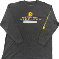 Pittsburgh Steelers NFL Team Apparel 2 HIT L/S T Shirt Size 2XL