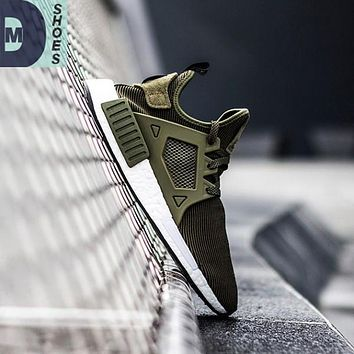(With Box) 2017 High Quality NMD XR1 Fall Olive Army green Sneakers Women Men Youth Gr