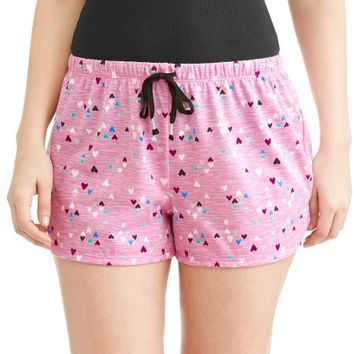 Secret Treasures Women's and Women's Plus Sleep Short with Drawstring - Walmart.com