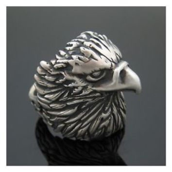 The Eagle Ring (Matt) 925 Sterling Silver Design by Moon Silver - No.190