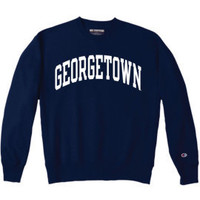 CHAMPION PRODUCTS : Georgetown University Crewneck Sweatshirt : Georgetown University Bookstore
