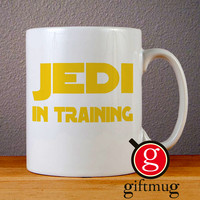 Jedi In Training Cool Star Wars Ceramic Coffee Mugs