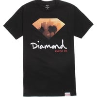 Diamond Supply Co City View Script T-Shirt - Mens Tee