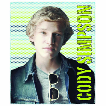 Cody Simpson- Portrait 50x60 Fleece Throw - Free Shipping in the Continental US!