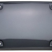 Cruiser Accessories 72200 Tuf Bubble Shield Novelty / License Plate Shield, Smoke