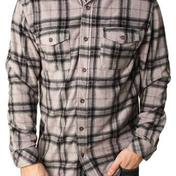 Jack Oneill Men's Poseidon Flannel Button Down Shirt